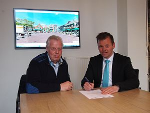 Contractondertekening voor website